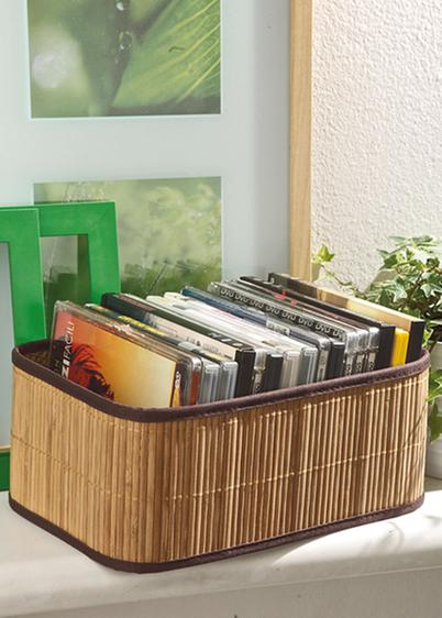 Porta DVD in bamboo