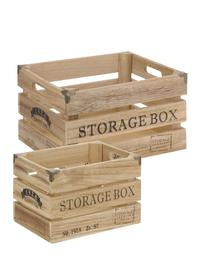 Set 2 cassette 'Storage Box'