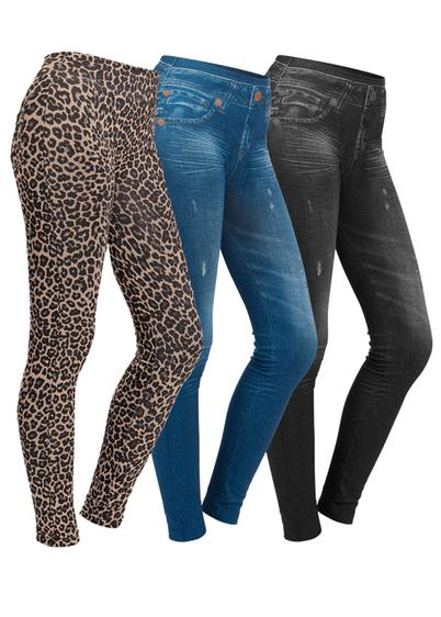 Set 3 jeggings Moda