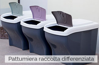 Pattumiera raccolta differenziata